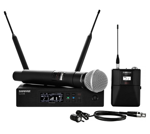 Shure QLX-D Digital Wireless Microphone Systems