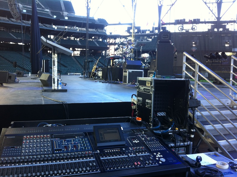 Yamaha PM5D for Monitors at the 2015 Seattle Children's Hospital Fundraising Gala