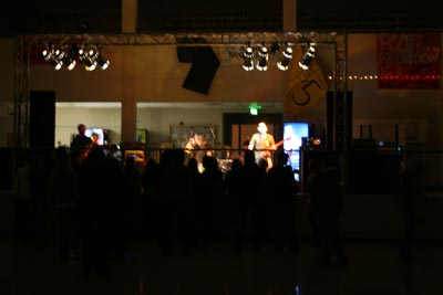 Sound and Lighting for Benefit Show, January 2008