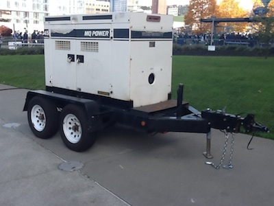 MQ Power Generator at CenturyLink Field