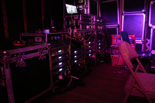 Crown I-Tech Amplifier Racks, Northwest Harvest Festival 2014
