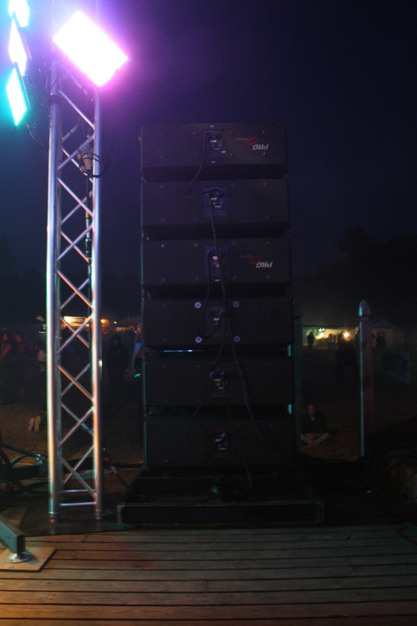 JBL VerTec 4888 at Northwest Harvest Festival 2014